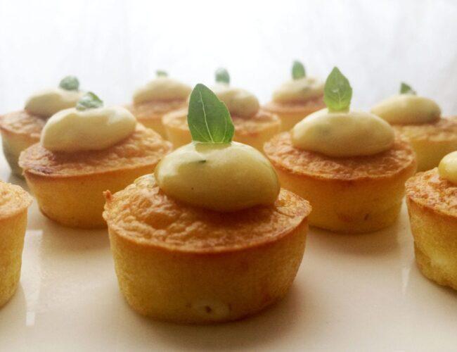 Mini-cakes fêta et olives