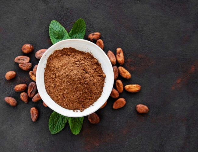 Cacao en poudre non sucré