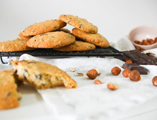 Cookies choco-noisettes